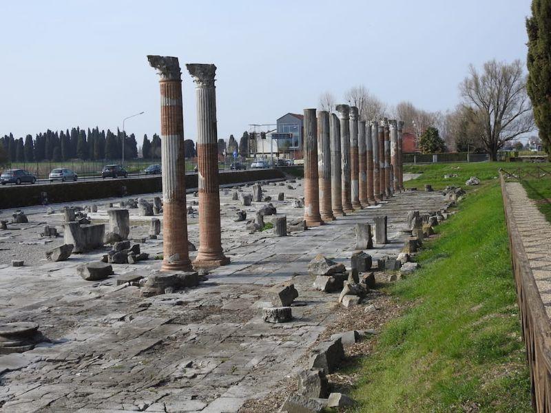 Aquileia, alla scoperta di una città in cui convivono arte antica e moderna