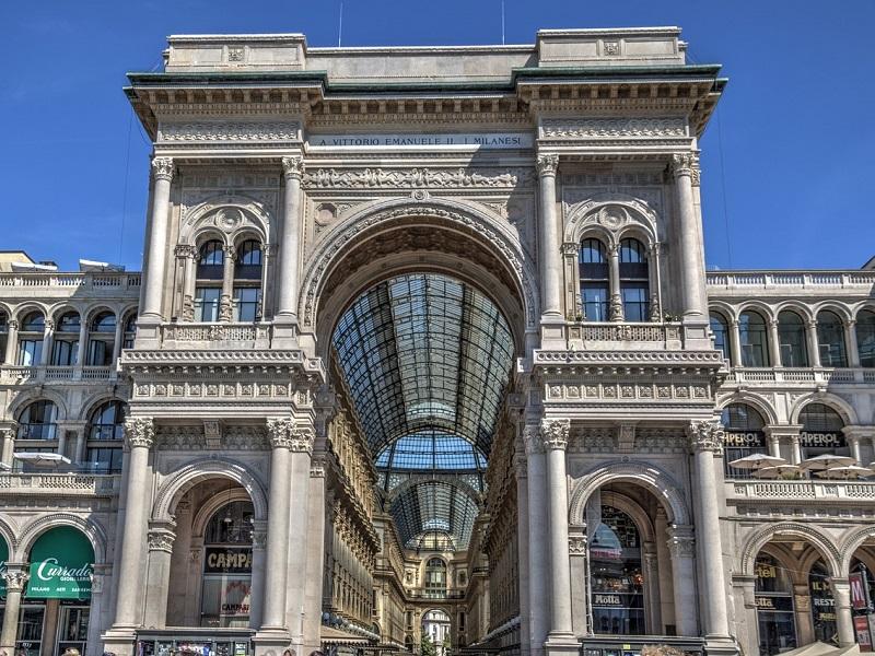 Una visita a Milano, dall'alto della Galleria Vittorio Emanuele II