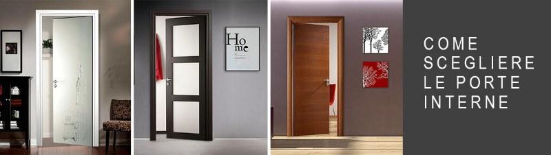 Scegliere le porte interne della casa: ecco come fare